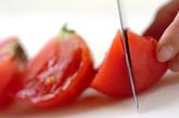 トマトと卵の温麺の作り方1
