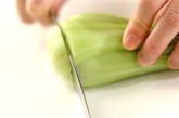 シューマイとチンゲンサイのケチャップ炒めの作り方1