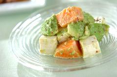 アボカドと豆腐のマリネ
