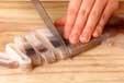 イカと小芋の甘煮の下準備1