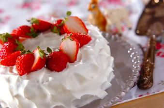 はじめてのショートケーキ
