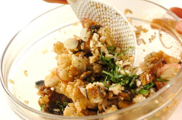 ウナギご飯の冷製トロロ茶漬けの作り方の手順5