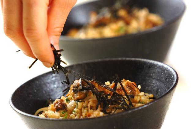 ウナギご飯の冷製トロロ茶漬けの作り方の手順7
