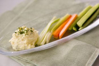 野菜のポテトディップ