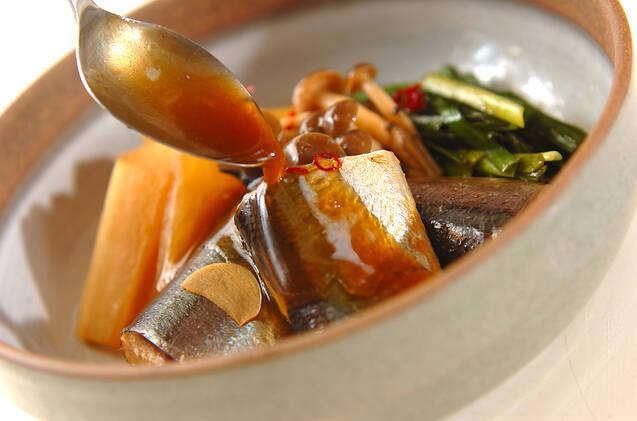 サンマと大根の煮物の作り方の手順5