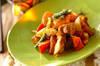 鶏のカレー炒めの作り方の手順