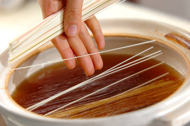 ささ身のヘルシー鍋の作り方の手順8