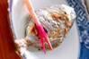 ウオゼの塩焼きの作り方の手順