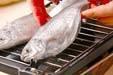 ウオゼの塩焼きの作り方の手順4