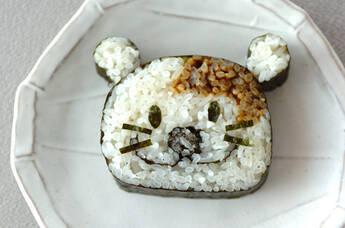 わんちゃんデコ巻き寿司
