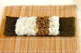わんちゃんデコ巻き寿司の作り方3