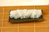 わんちゃんデコ巻き寿司の作り方10