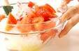 トマトとタコのマリネの作り方1