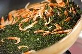 アオサ混ぜご飯の作り方1