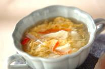 カリフラワーと卵のスープ