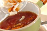 小松菜とちくわの煮浸しの作り方3