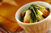 ほっとする味!小松菜とちくわの煮浸しの作り方の手順