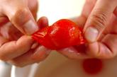 トマトゴマしょうゆ和えの作り方2