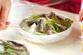 白菜とオイルサーディンのレンジ蒸しの作り方2