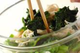 ホウレン草とエノキのお浸しの作り方4