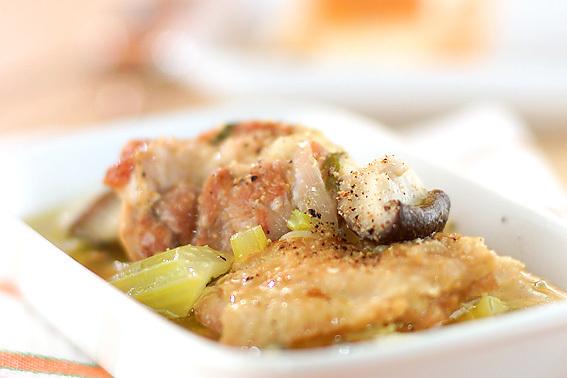 鶏もも肉と野菜のスープ煮