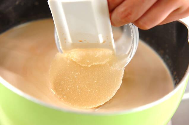 コーヒープリンの作り方の手順2