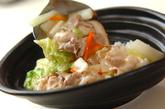 白菜の中華丼の作り方2