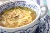 ささ身のさっぱりスープ