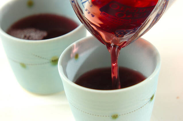 ブドウのトロトロゼリーの作り方の手順3