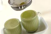 豆乳で作る抹茶ゼリーの作り方3