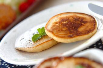 ピーナッツバター風味パンケーキ