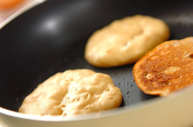 ピーナッツバター風味パンケーキの作り方の手順2