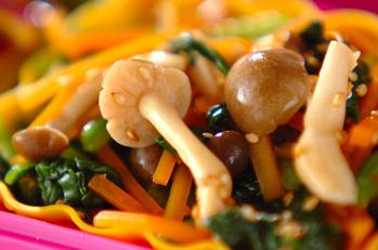 野菜のポン酢和え