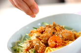 海鮮冷麺の作り方2