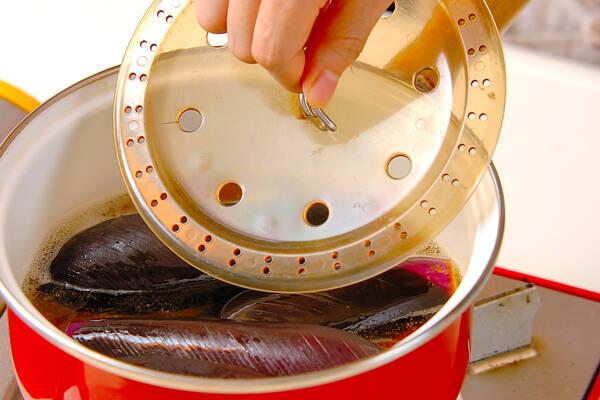 ナス素麺の作り方の手順5