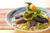 ナス素麺の作り方の手順