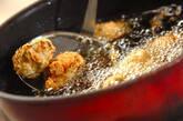 レンコンのおろし揚げの作り方6