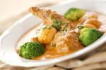 鶏肉とマッシュルームの煮込み