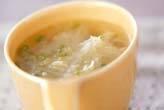 大根とキクラゲのスープ