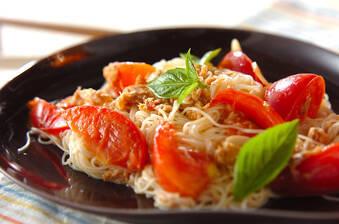 イタリアン素麺チャンプルー