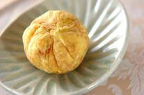 メープル風味サツマイモ茶巾