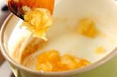 ヨーグルトのリンゴジャムがけの作り方2