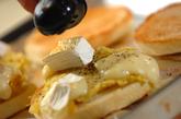 焼き芋のオープンサンドの作り方3