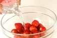イチゴのキルシュ風味の作り方1