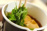 卵入り揚げ袋の煮物の作り方6