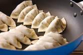 カリカリ焼き餃子の作り方5