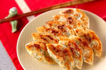 カリカリ焼き餃子
