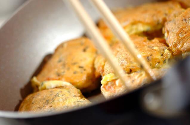 鮭のハーブピカタの作り方の手順5