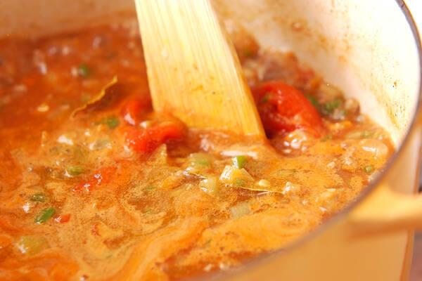 ひき肉カレーの作り方の手順4