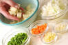 ひき肉カレーの作り方の手順1